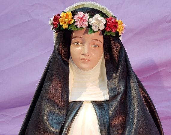 """St. Rose of Lima 26"""" Saints Religious Catholic Christian Statues"""