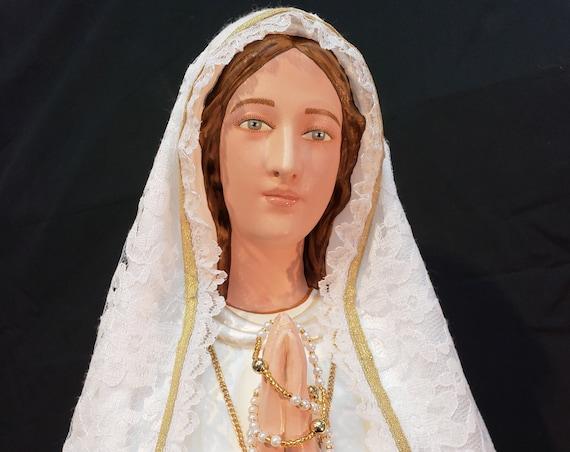 "Our Lady of Fatima 33"" Mary Religious Catholic Christian Statues"