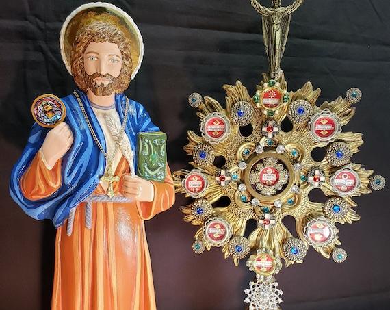 "St. Luke the Evangelist 18"" Catholic Christian Religious Saints Statue"