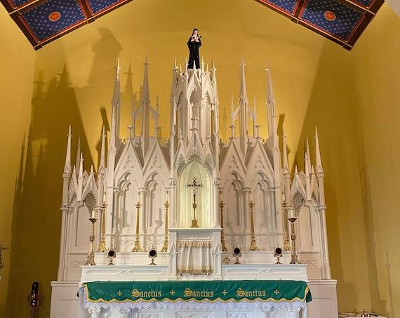 "30"" St. Margaret Mary Alacoque Sacred Heart of Jesus Saints Religious Catholic Christian Statues"