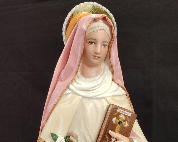 """St. Monica 18"""" Weeping Saint"""