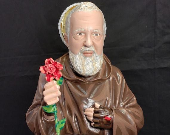 "St. Padre Pio 20"" Catholic Christian Religious Saint Statues"