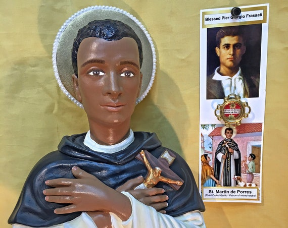 "St. Martin de Porres 26"" Catholic Christian Religious Saint Statues"