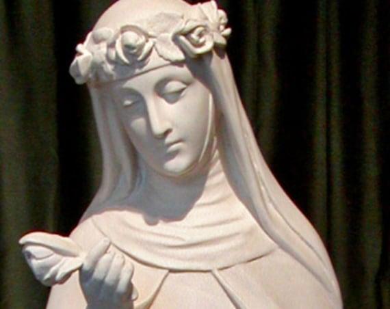 "St. Rose of Lima 51"" Fiberglass Statue"
