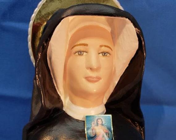 "St. Faustina Kowalska 18"" Saints Catholic Religious Christian Statues"