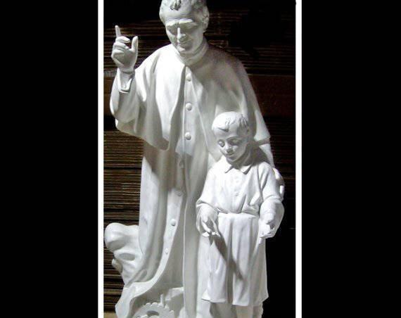 St. John Bosco St. Dominic Savio Fiberglass Statue Catholic