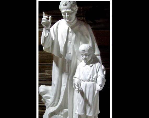 St. John Bosco St. Dominic Savio Fiberglass Statue