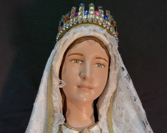 "Our Lady of Fatima Pilgrim Virgin 26"" Mary Religious Catholic Christian Statues"
