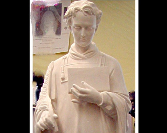 "St. Stephen Martyr or St. Lawrence 50"" Fiberglass Statue"