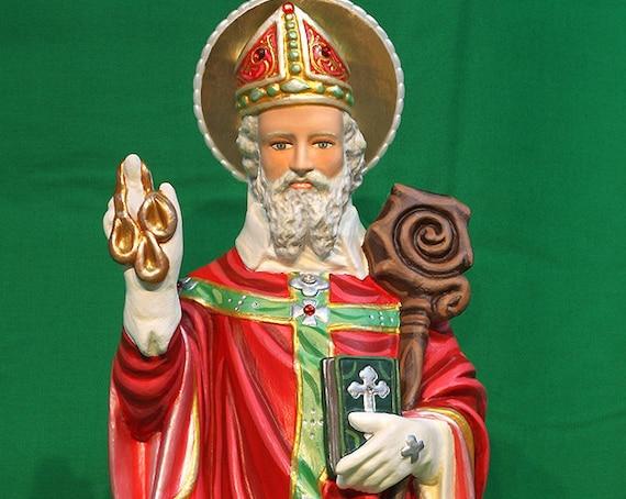 "10% OFF!!! St. Nicholas 20"" Saints Religious Catholic Christian Statues"