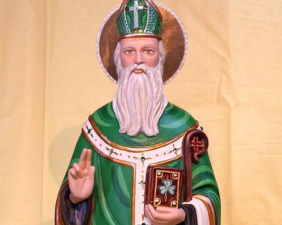"St. Patrick 25"" Catholic Christian Religious Saint Statues"