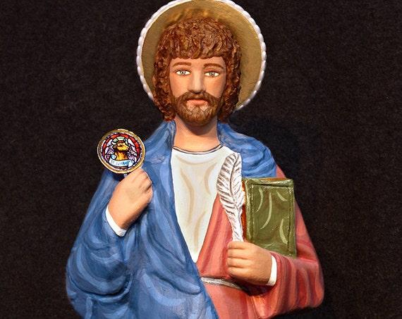 "10% OFF!!! St. Luke 18"" Catholic Christian Religious Saints Statue"