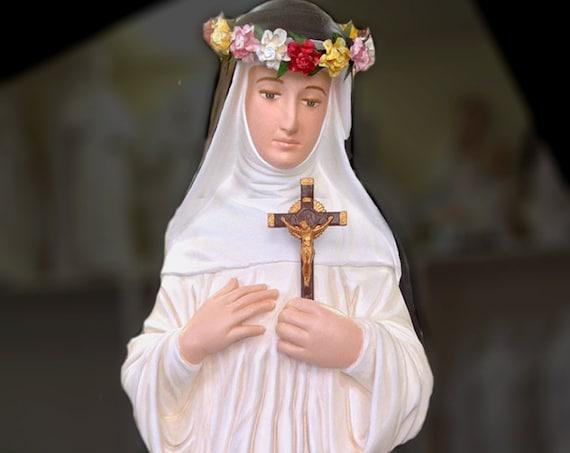 """St. Rose of Lima 31"""" Catholic Christian Religious Saint Statues"""