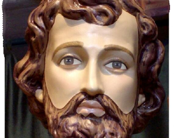 "St. John the Baptist 63"" Fiberglass Statue (SALE)"