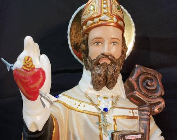 "St. Augustine 20"" Catholic Christian Religious Saint Statues"
