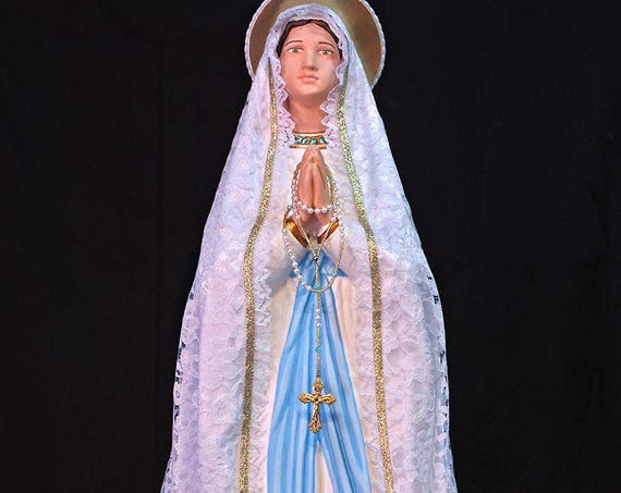 "Our Lady of Lourdes 26"" Mary Religious Catholic Christian Statues"