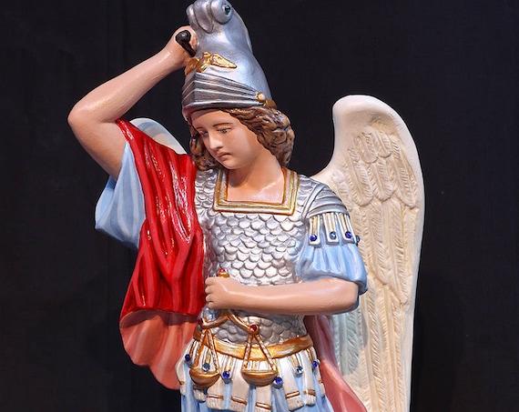 """St. Michael Archangel 20"""" Catholic Christian Religious Saints Statue"""