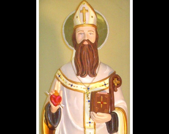 "St. Augustine 25"" Catholic Christian Religious Saints Statue"