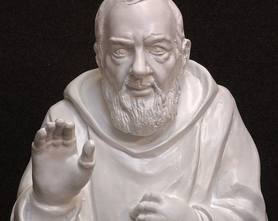 "St. Padre Pio 40"" Fiberglass statue"