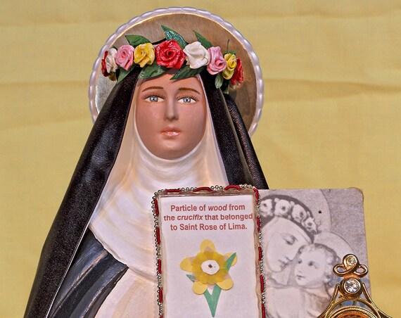 "10% OFF!!! St. Rose of Lima 18"" Catholic Christian Religious Saints Statue"