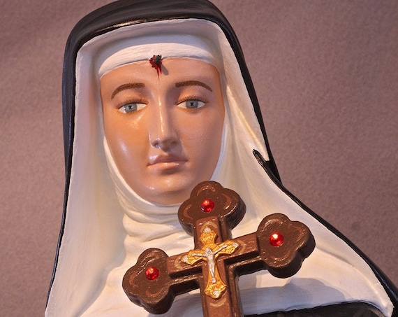 "St. Rita of Cascia 31"" Catholic Christian Religious Saints Statue"