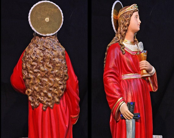 "St. Barbara 18"" Catholic Christian Religious Saints Statue"