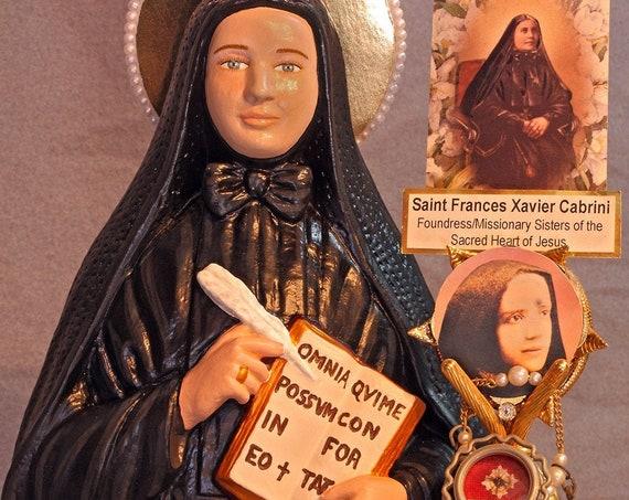"St. Frances Xavier Cabrini 18"" Saints Religious Catholic Christian Statues"