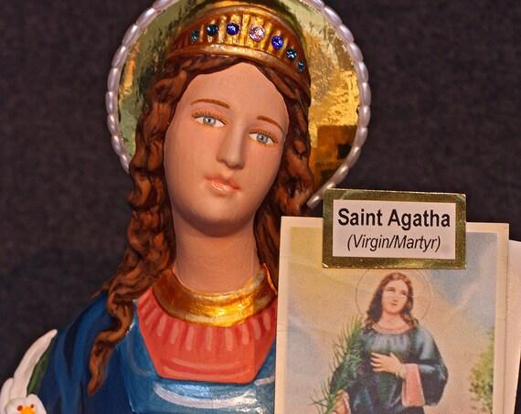 "St. Agatha 18"" Saints Religious Catholic Christian Statues"