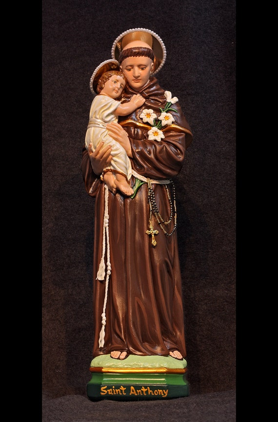 "10% OFF!!! St. Anthony of Padua 18"" Saints Religious Catholic Christian Statues"