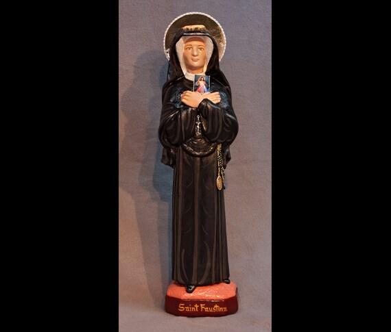 "St. Faustina Kowalska 18"" Patron Saint of Mercy"