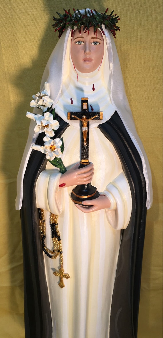 """St. Catherine of Siena 18"""" Patroness Against Sexual Temptation"""