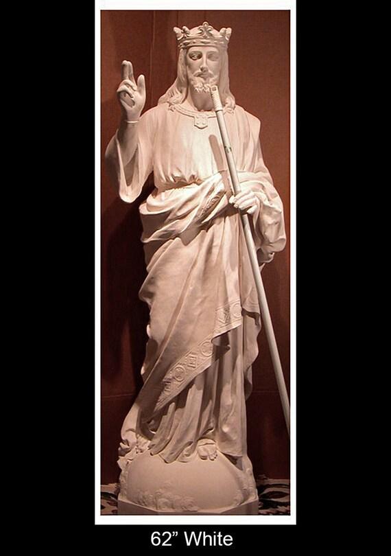 "Christ the King Jesus 62"" Fiberglass Statue"