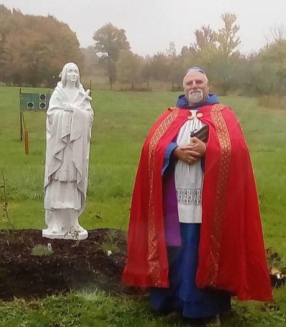 "60"" St. Kateri Tekakwitha ""Lily of the Mohawks"" 60"" Fiberglass Statue"
