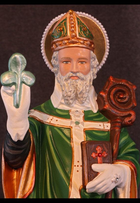 "St. Patrick 20"" Bishop Patron of Ireland and Engineers"