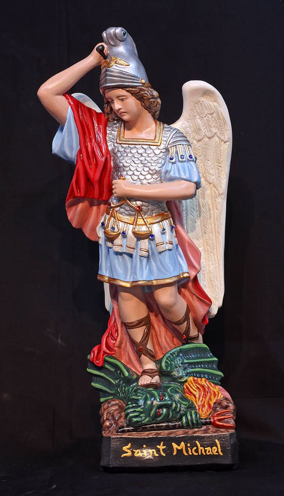"""St. Michael Archangel 20"""" Patron of Soldiers and Police"""