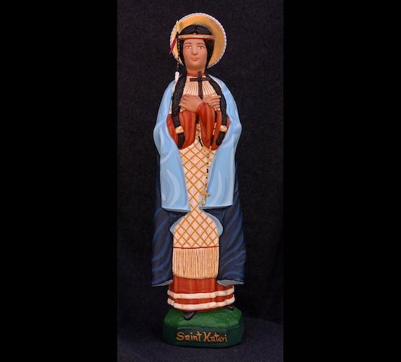 """St. Kateri Tekakwitha 19"""" Patron of Pagan Conversions and Interior Silence"""
