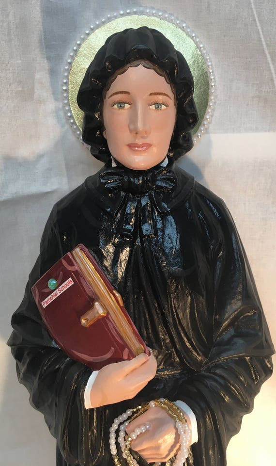 "St. Elizabeth Ann Seton 18"" Patron of in-law problems, against the death of children, widows, death of parents"