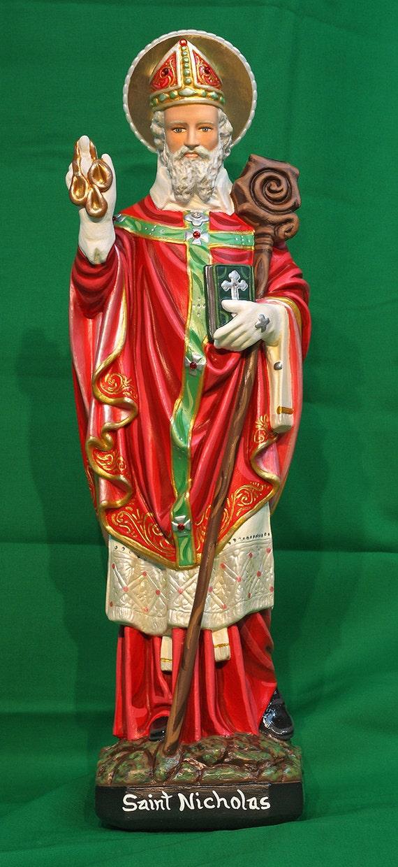 "St. Nicholas 20"" Patron of seamen, merchants, fishermen, children and Russia"