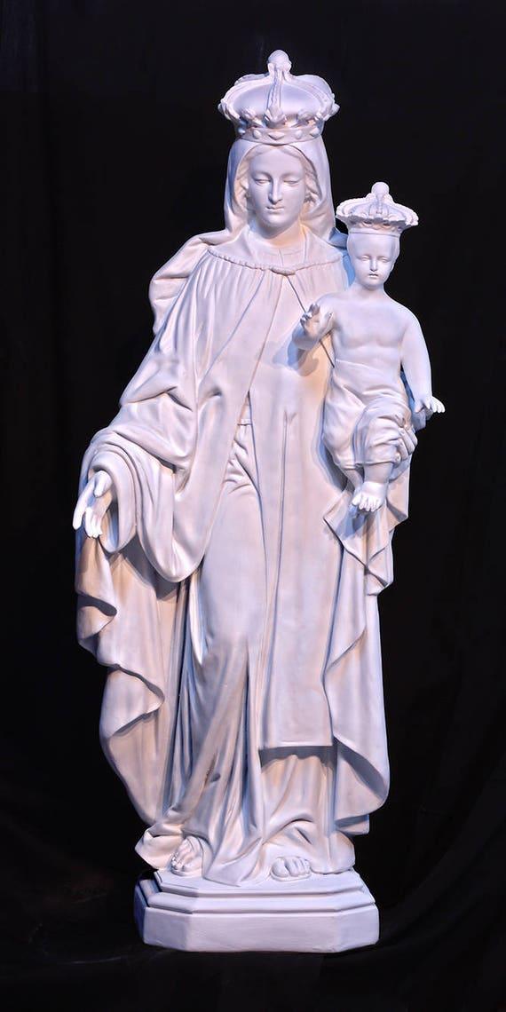 "Our Lady of Mount Mt. Carmel 57"" Fiberglass Statue (SALE)"