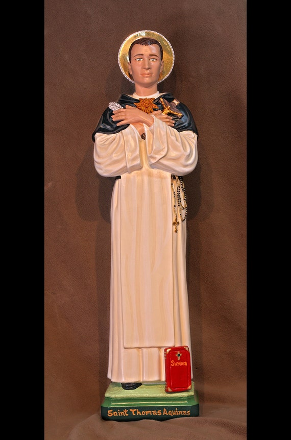 "10% OFF!!! St. Thomas Aquinas 26"" Saints Catholic Christian Religious Statues"