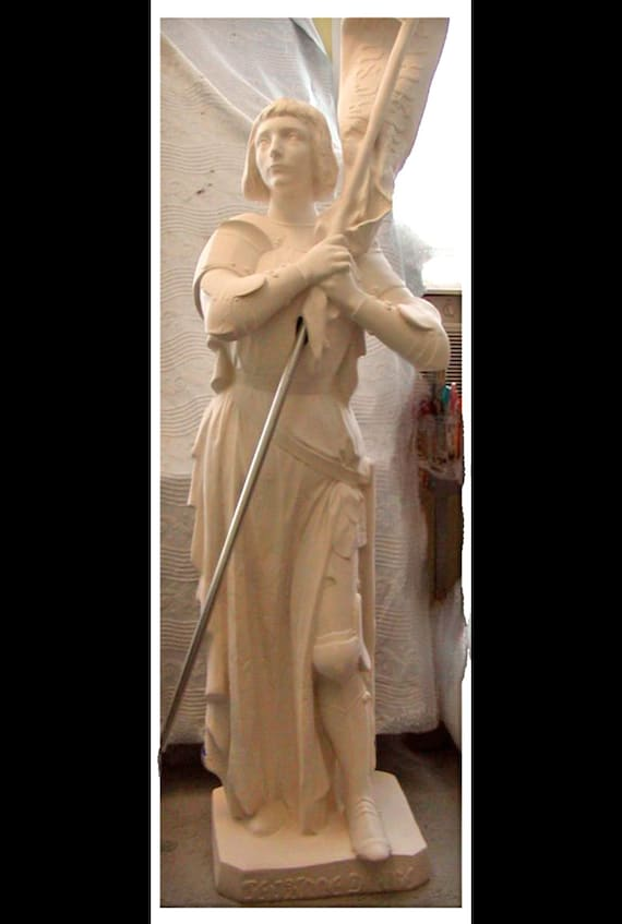 "St. Joan of Arc 60"" Fiberglass Statue (SALE)"