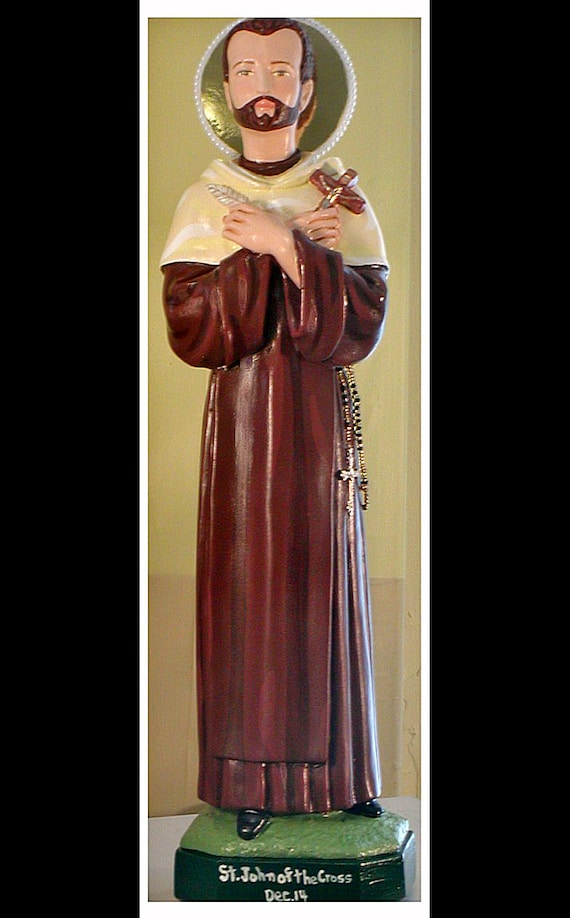 "St. John of the Cross 18"" Catholic Christian Religious Saint Statues"