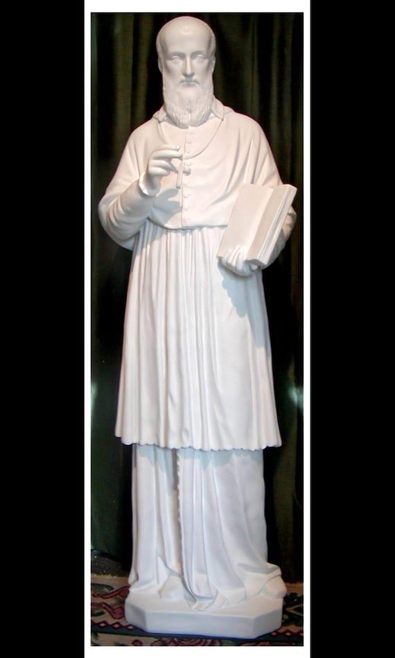 """St. Francis de Sales 60"""" Fiberglass Statue"""