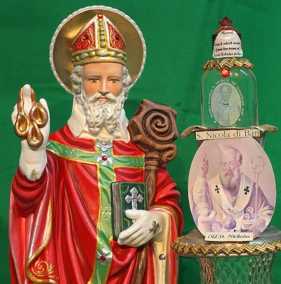 "St. Nicholas 20"" Saints Religious Catholic Christian Statues"