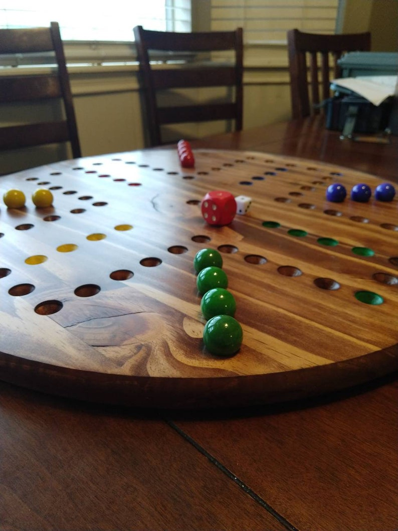 NEW! Extra large marble Wahoo 4 player what board, 1
