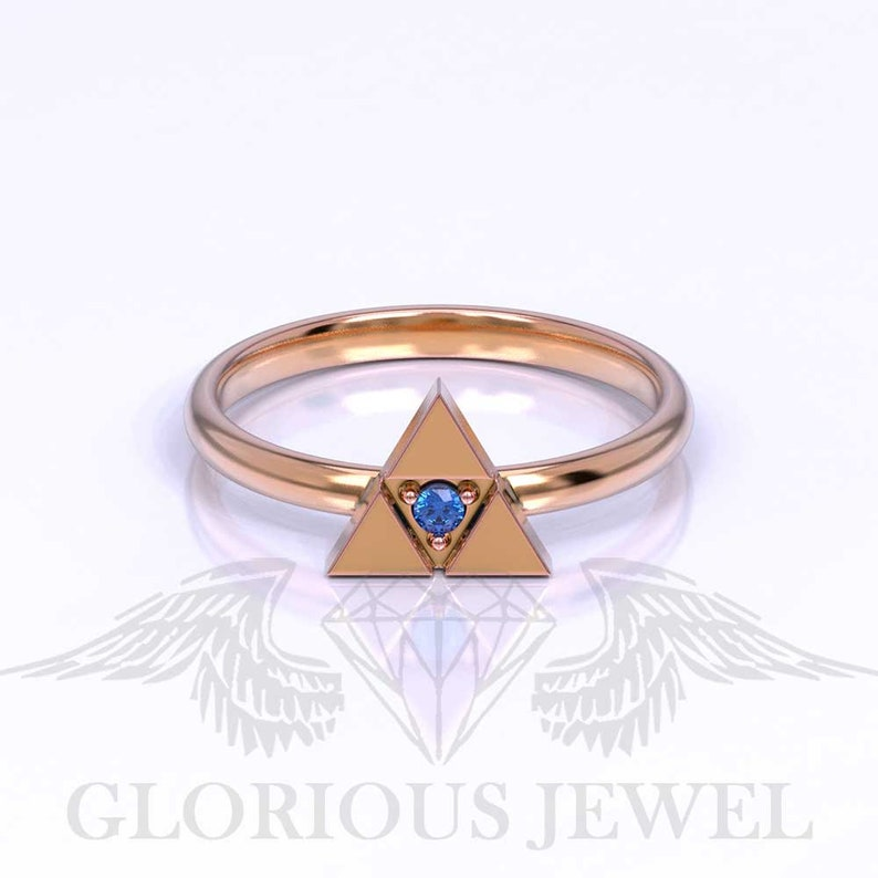 Legend of Zelda Ocarina of time Spiritual Zelda ring Hyrule warriors Engagement rings Breath of the wild ring Custom made Old school Nerdy