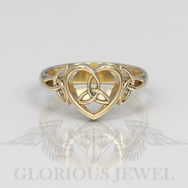 Irish Wedding Rings.Celtic Wedding Rings Celtic Heart Ring Silver Heart Ring Celtic Knot Ring Silver Celtic Ring Irish Wedding Ring