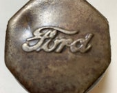 Antique Ford Oil Cap Paper Weight