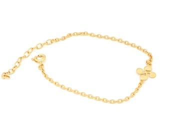 symbolic jewelry for woman and teens 047401 Lauburu Zirconium Bracelet-Adjustable Bracelet-Anniversary Gift     Beautiful Accessory