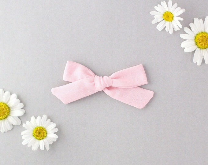 Baby Pink // Schoolgirl Bow